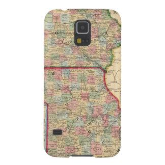 Iowa, Missouri Map by Mitchell Case For Galaxy S5