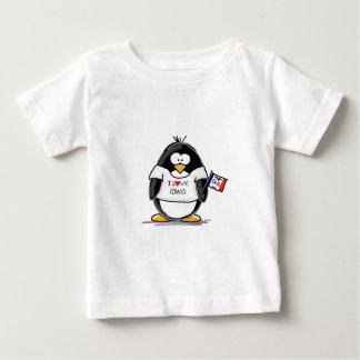 Iowa Penguin Baby T-Shirt