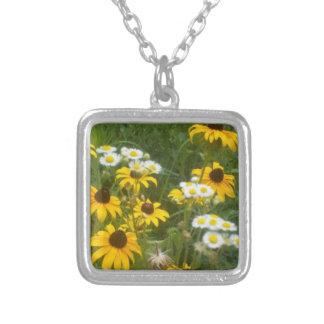 Iowa Prairie Wildflowers Locket - by Fern Savannah