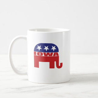 Iowa Republican Elephant Coffee Mug