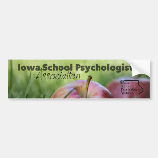 Iowa School Psych. Assoc. Bumper Sticker
