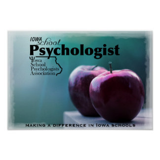 Iowa School Psychologist Office Poster