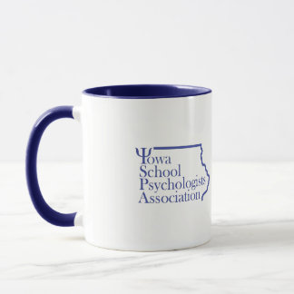 Iowa School Psychology Association Logo Coffee Mug