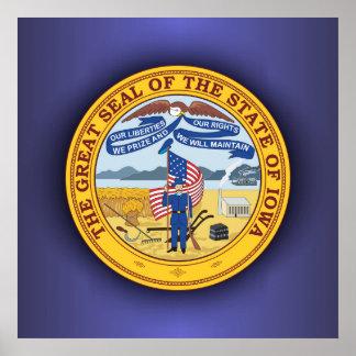 Iowa Seal Poster