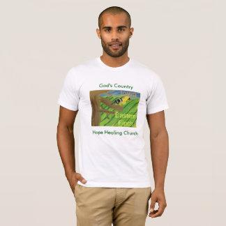 Iowa State Bird Eastern Finch Christian T-Shirt