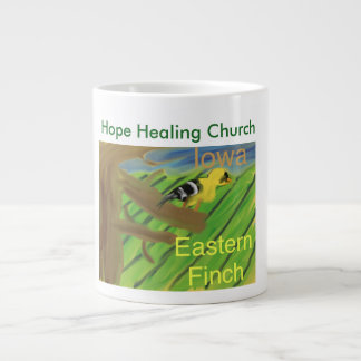 Iowa State Bird Eastern Finch Coffee Mug Cup