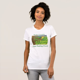 Iowa State Bird Eastern Finch Womens T-Shirt
