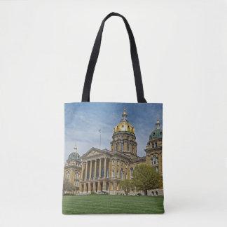 Iowa State Capitol Building Tote Bag