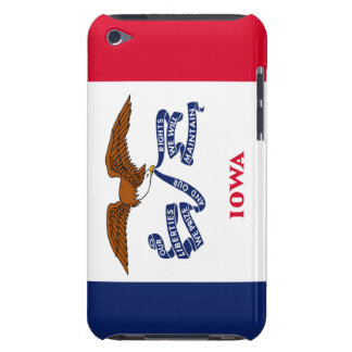 Iowa state flag barely there iPod cases