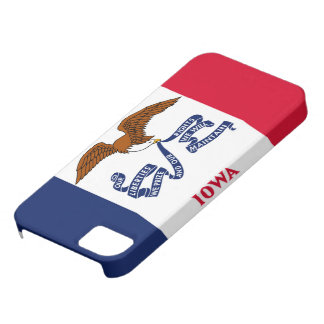 iowa state flag united america republic symbol barely there iPhone 5 case