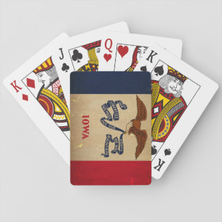 Iowa State Flag VINTAGE.png Playing Cards