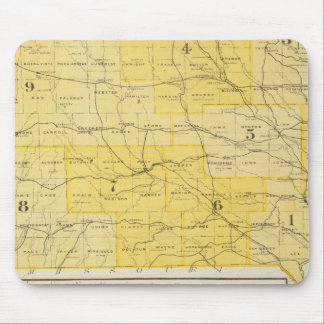 Iowa State Maps Mouse Mat