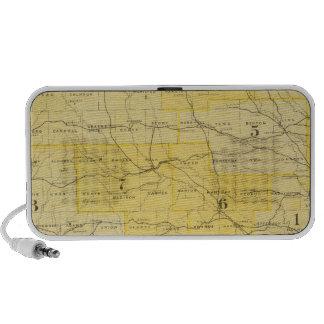 Iowa State Maps iPhone Speakers