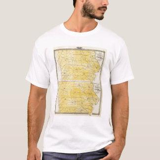 Iowa State Maps T-Shirt