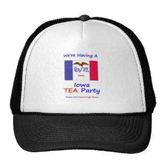 Iowa TEA Party - We re Taxed Enough Already Trucker Hats