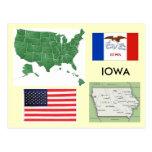 Iowa, USA Post Cards