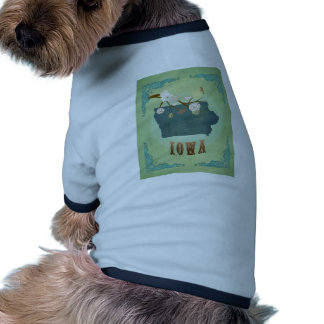 Iowa Vintage State Map – Green Dog Clothes