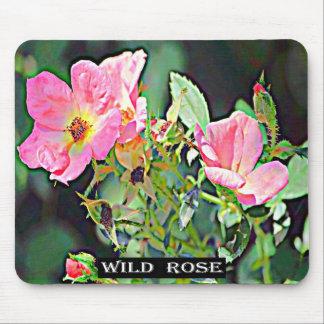Iowa Wild Rose Mouse Pad