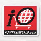 iOwnTheWorld.com Logo Mouse Mat