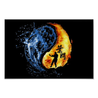 Ip Man Wing Chun ( Yin Yang) Poster