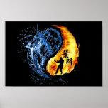 Ip Man Wing Chun ( Yin Yang) Print