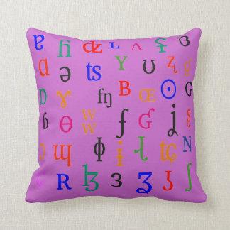 IPA characters Cushion