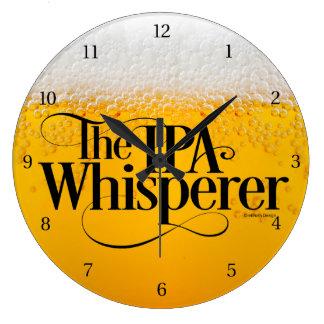 IPA Whisperer Large Clock
