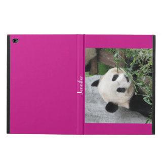 iPad Air 2 Case, Giant Panda, Hot Pink