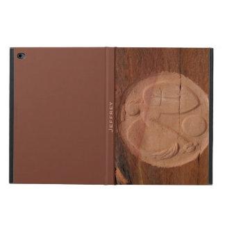 iPad Air 2 Folio Case, Angel in the Rocks Brown