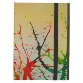 iPad Air Case abstract vibrant splash design