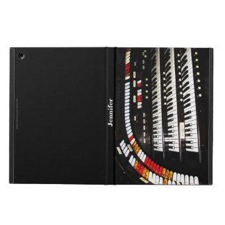 iPad Air Case, Antique Organ, Black Back iPad Air Covers