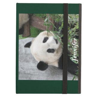 iPad Air Case, Giant Panda, Green iPad Air Cover