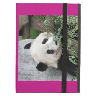 iPad Air Case, Giant Panda, Hot Pink iPad Air Cover
