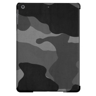 iPad Air Cover  - Camo Black White