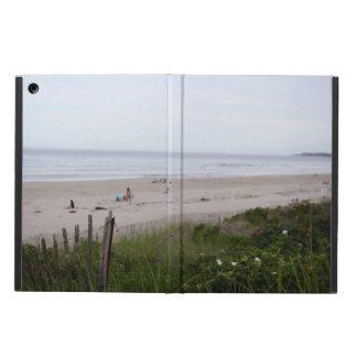 iPad Air PHOTOGRAPH OF MAINE BEACH FENCE 2 iPad Air Cases