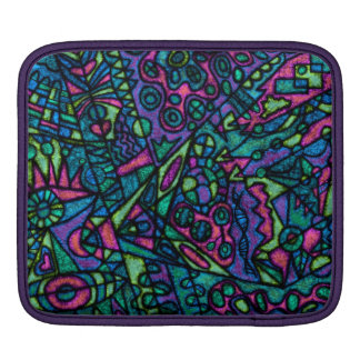 Ipad air tablet case sleeve cover abstract art iPad sleeves