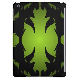 iPad Case Black Olive Ornate Flourish Gifts
