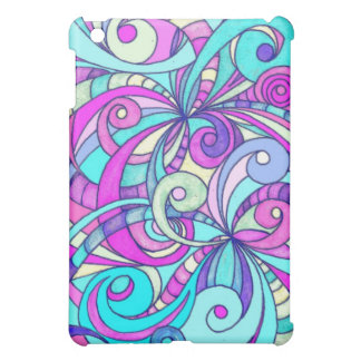 iPad Case Floral abstract background
