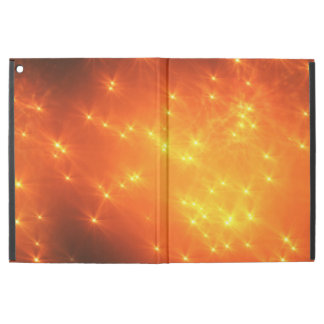 iPad case Glistening Stars Fancy Party Design