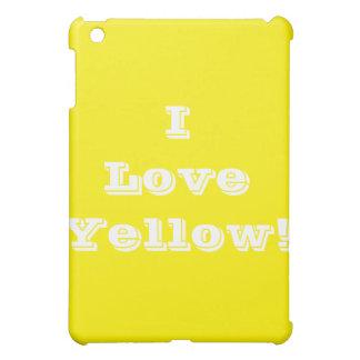 Ipad Case I Love Yellow