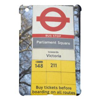 iPad Case London Bus Stop Sign