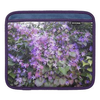 iPad Case Purple / Mauve Flowers