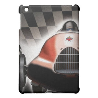 iPad Case With Cool Old Racing Car