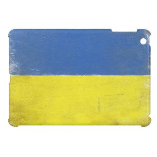 iPad Case with Distressed Ukrainian Flag Print