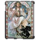 iPad Cover Alphonse Mucha