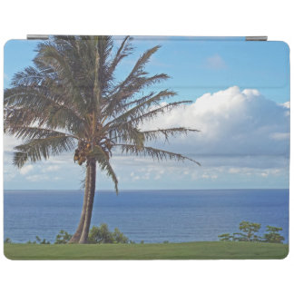 iPad cover/PALM TREE /HAWAII/ OVERLOOKING PACIFIC iPad Cover