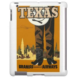 iPad Cover Vintage Travel Texas