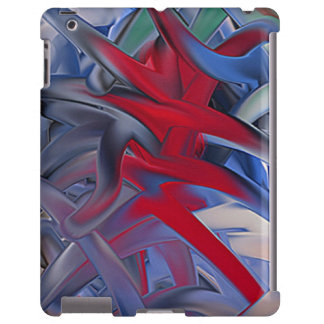 "iPad covering ""game"" multicolored abstractly iPad Case"