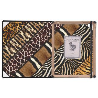 ipad DODOcase Mixed Animal Print iPad Folio Case