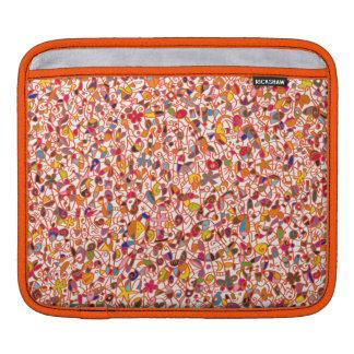 iPad horizontal, Rickshaw sleeve, at-home the iPad Sleeve